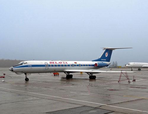 Ту-134. На стоянке.