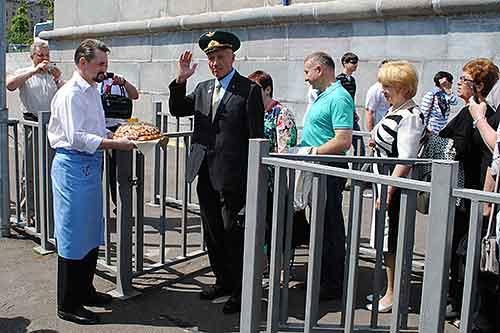 28 мая, День пограничника, Крылья границы, Теплоход